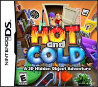 Okładka Hot and Cold: A 3D Hidden Object Adventure (NDS)