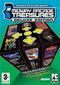 Okładka Midway Arcade Treasures: Deluxe Edition (PC)