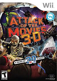 Okładka Attack of the Movies 3D (Wii)