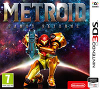 Game Box for Metroid: Samus Returns (3DS)