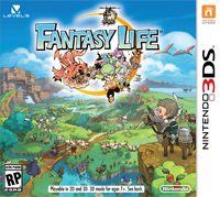 Okładka Fantasy Life (3DS)