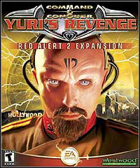 Okładka Command & Conquer: Red Alert 2 - Yuri's Revenge (PC)