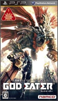 Okładka God Eater (PSP)