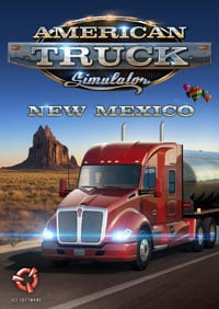 Game Box for American Truck Simulator: New Mexico (PC)