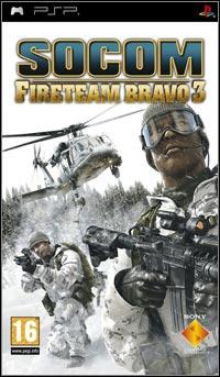 Okładka SOCOM: U.S. Navy SEALs Fireteam Bravo 3 (PSP)