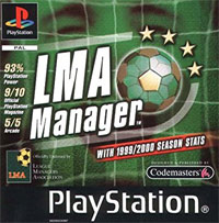 Game Box for LMA Manager (PS1)