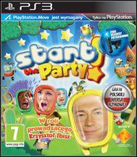 Okładka Start the Party! (PS3)