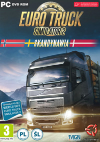 Okładka Euro Truck Simulator 2: Scandinavian Expansion (PC)