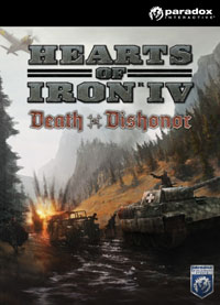 Game Box for Hearts of Iron IV: Death or Dishonor (PC)