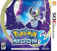 Okładka Pokemon Moon (3DS)