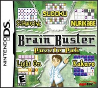Okładka Brain Buster Puzzle Pak (NDS)