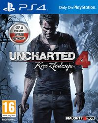 Okładka Uncharted 4: A Thief's End (PS4)