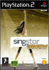 Okładka SingStar Legends (PS2)
