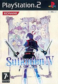 Okładka Suikoden IV (PS2)