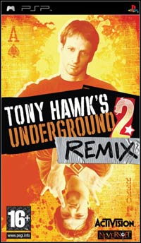 Okładka Tony Hawk's Underground 2 Remix (PSP)