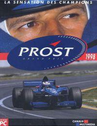Okładka Prost Grand Prix 1998 (PC)