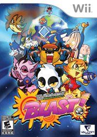 Okładka Wicked Monsters BLAST! (Wii)