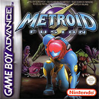 Metroid Fusion (GBA cover