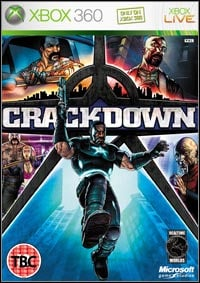 Game Box for Crackdown (X360)
