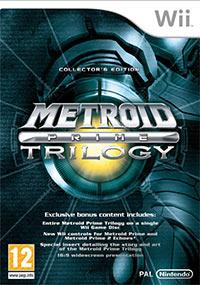 Okładka Metroid Prime Trilogy (Wii)