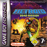 Game Box for Metroid: Zero Mission (GBA)