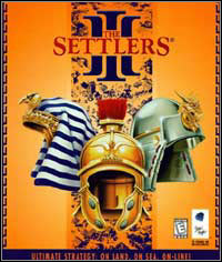 Game Box for The Settlers III (PC)