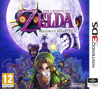 Game The Legend of Zelda: Majora's Mask 3D (3DS) cover