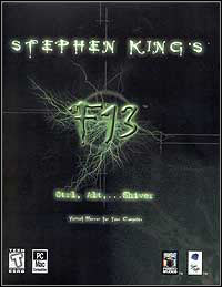 Stephen King's F13 (PC cover