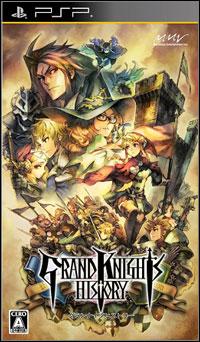 Okładka Grand Knights History (PSP)