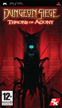 Game Box for Dungeon Siege: Throne of Agony (PSP)