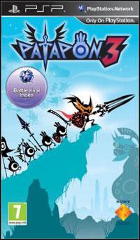 Okładka Patapon 3 (PSP)
