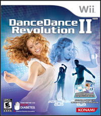 Okładka Dance Dance Revolution II (Wii)