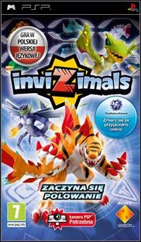 Okładka Invizimals (PSP)