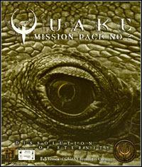 Okładka Quake Mission Pack No. 2: Dissolution of Eternity (PC)