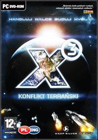 Okładka X3 Terran Conflict (PC)