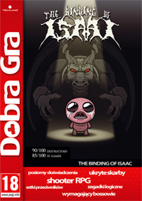 Okładka The Binding of Isaac (PC)