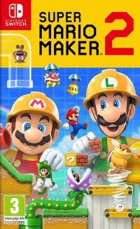 Okładka Super Mario Maker 2 (Switch)