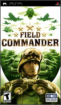 Game Box for Field Commander (PSP)