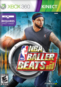 Game Box for NBA Baller Beats (X360)