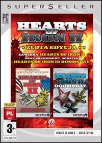 Okładka Hearts of Iron 2: Zlota Edycja (PC)