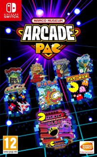 Namco Museum Arcade Pac (Switch cover