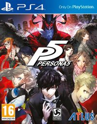 Game Persona 5 (PS4) cover