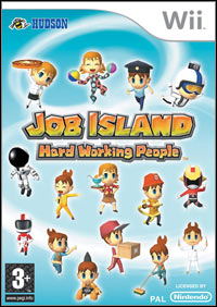 Okładka Job Island: Hard Working People (Wii)