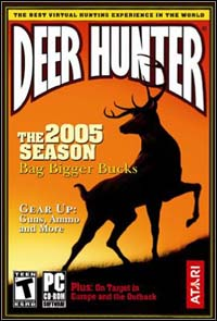 Game Box for Deer Hunter 2005 (PC)