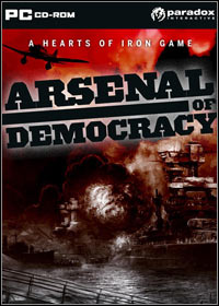 Okładka Arsenal of Democracy: A Hearts of Iron Game (PC)