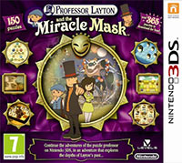 Game Box for Professor Layton and the Miracle Mask (3DS)