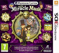 Okładka Professor Layton and the Miracle Mask (3DS)