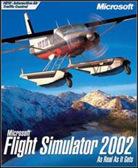 Game Box for Microsoft Flight Simulator 2002 Standard Edition (PC)