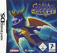Game Box for Spyro Shadow Legacy (NDS)