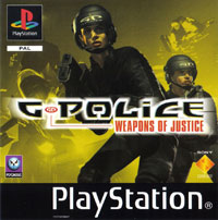 Okładka G-Police: Weapons of Justice (PS1)
